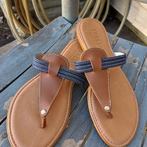 Italian Shoemakers Thong Style Sandals Size 9/39